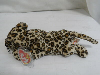"""Ty Beanie Babies: Freckles The Leopard Plush 10"""" (Bno15) A"""