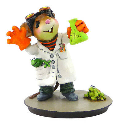 OUR MAD SCIENTIST! by Wee Forest Folk, WFF# M-508, Retired 2015