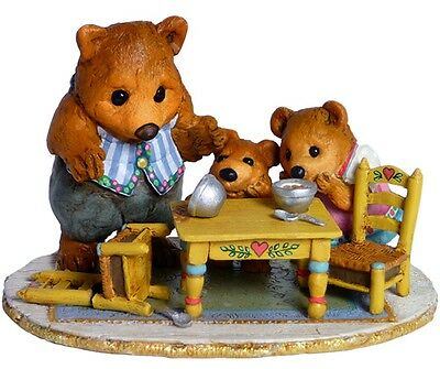 THE BEAR FAMILY by Wee Forest Folk, WFF# BB-5a, Retired Limited Edition