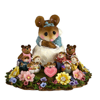 ANNETTE'S WEE WORLD by Wee Forest Folk, WFF# M-330s, Retired Limited Edition