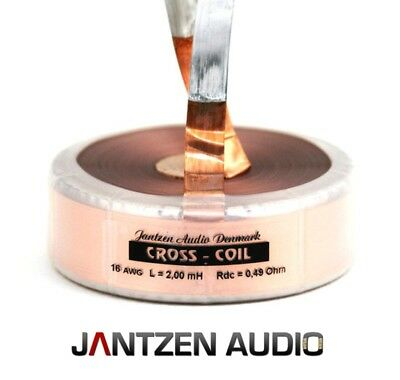 Jantzen-Audio CrossCoil Bandspule AWG16 -  0,33mH - +/-2% - 0,19Ohm