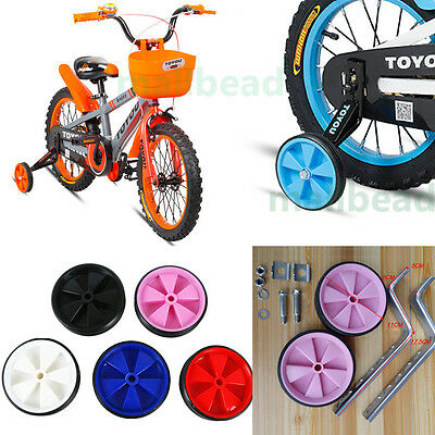 "New KIDS BICYCLE BIKE CYCLE CHILDREN STABILISERS 12-20"" INCH TRAINING WHEELS hot"