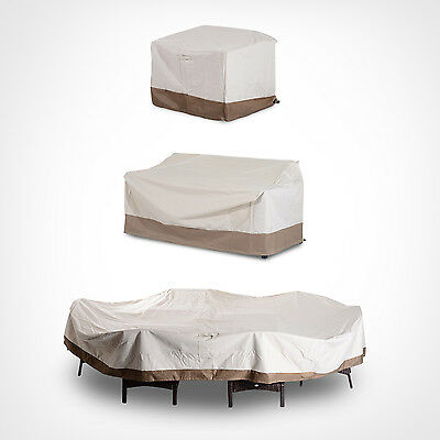 Outsunny Lightweight Outdoor Sofa Cover Furniture Cover Protector Waterproof