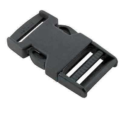 """41I-SR30 - Two (2) sets of Plastic ITW Fixlock Black Buckles for 1-1/4"""" Straps"""
