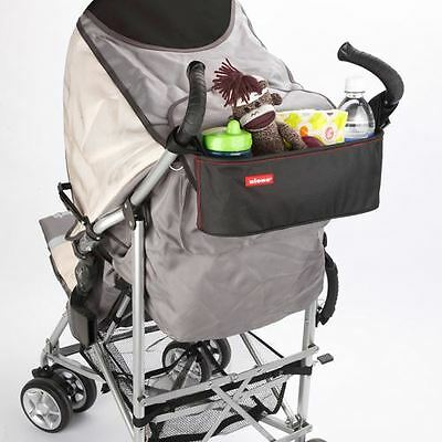BUGGY BUDDY - Pushchair Pram Stroller Insulated Organiser Travel Bag By DIONO