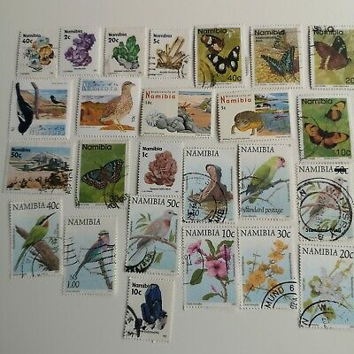250 Different Namibia Stamp Collection