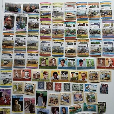 1000 Different St Vincent Stamp Collection