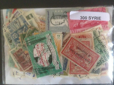 1000 Different Syria Stamp Collection