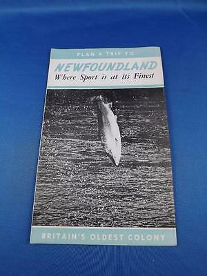 Newfoundland Travel Brochure Plan A Trip Sport Is At Its Finest Fishing Canada