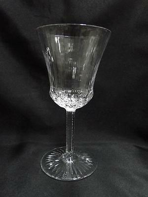 """St Louis Apollo Clear, Clear w/ Angular Cuts: Water Goblet (s), 7.5"""""""