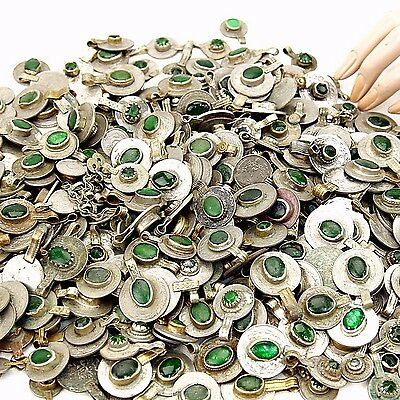80 real Jeweled COINS Tribal BellyDance Kuchi Tribe - GREEN Color