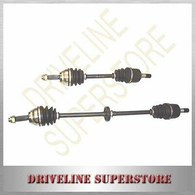 a set of two CV JOINT DRIVE SHAFTS FOR MITSUBISHI LANCER  CE FWD 1997-2002 ALL