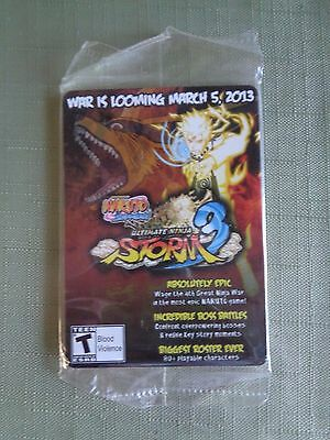 WonderCon 2013 EXCLUSIVE NARUTO Storm 3 Trading cards promo Set Sealed