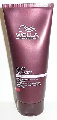 Wella Professional Color Recharge Cool Blonde Conditioner 200ml