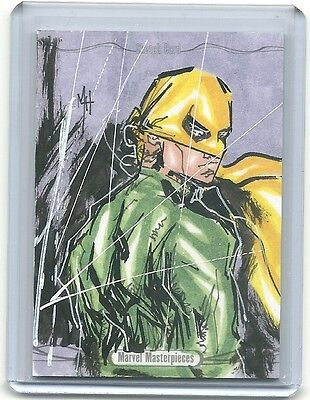 2016 Marvel Masterpieces Sketch Card X-MEN SPYNE Matt Santorelli 1/1