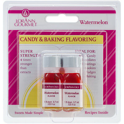 Candy & Baking Flavoring .125oz 2/Pkg-Watermelon, Set Of 6