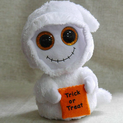 Halloween Ghost TY BEANIE BOOS Mist Stuffed Without all tag 6 inch tall