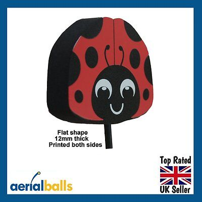 New Ladybird Car Aerial Ball Antenna Topper