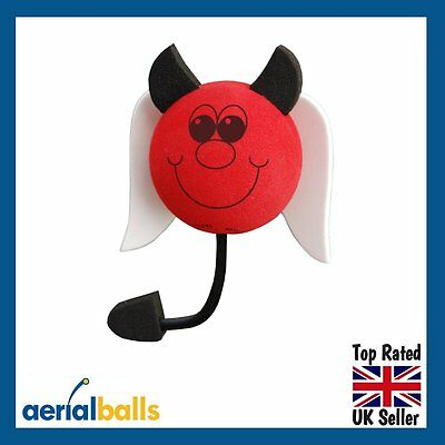 SALE...Naughty Red Devil Car Aerial Ball Antenna Topper