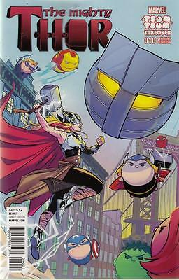 MIGHTY THOR #10 BUSTOS TSUM TSUM VARIANT (Marvel 2016 1st Print) COMIC
