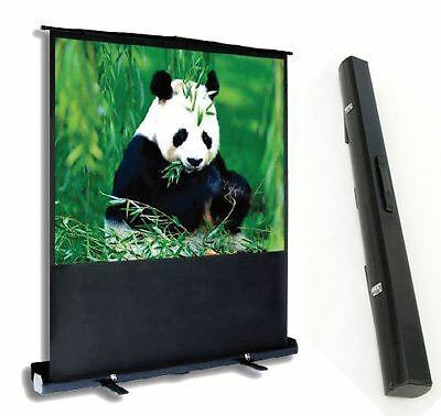 Allcam PCP90MM  Matte white Portable pull-up projection screen 4:3