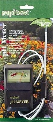 #1840 Rapitest: SOIL pH Meter Tester Test Luster Leaf