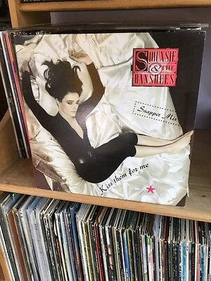 "SIOUXSIE AND THE BANSHEES Kiss Them For Me 12"" VINYL 3 Track Snapper Mix"