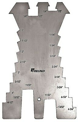 Freund Tools No. 01133000 Sheet Metal Scribe  Stainless Steel  New
