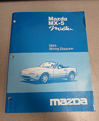 mazda wiring diagram and workshop manual  1992 mazda miata mx 5 service workshop manual wiring diagrams on 2014 mazda 6 wiring