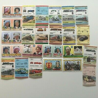 1000 Different Tuvalu Stamp Collection