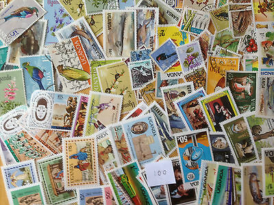 1000 Different Uganda Stamp Collection
