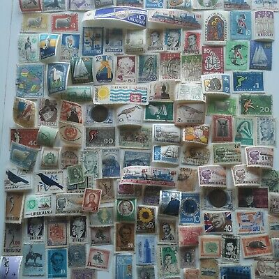 2000 Different Uruguay Stamp Collection