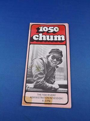 1050 Chum Radio Station Toronto Top 30 Songs December 1973 Tom Rivers