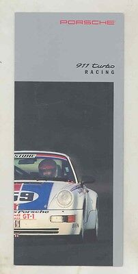 1991 1992 Porsche 911 Turbo Race Car IMSA Brochure Hurley Haywood ww1633