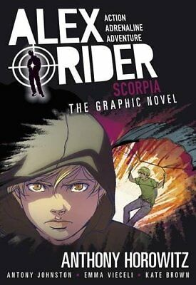 Scorpia Graphic Novel (Alex Rider)-Anthony Horowitz, Antony Johnston, Emma Viece