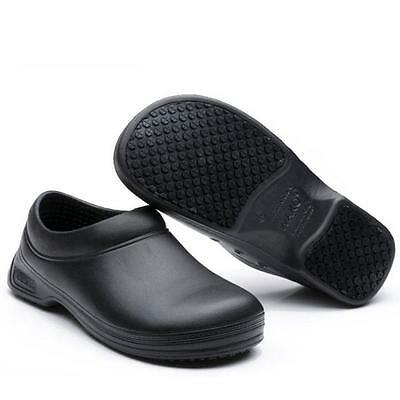 Men Chef Shoes Cook Kitchen Nonslip Safety Shoes Oil Water-proof on safety
