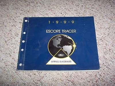 1999 Mercury Tracer Electrical Wiring Diagram Manual LS GS 2.0L 4Cyl