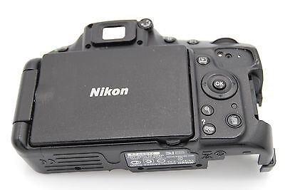 NIKON D5100 Rear Back Cover w/ LCD and Interface Control NO CARD DOOR A1186