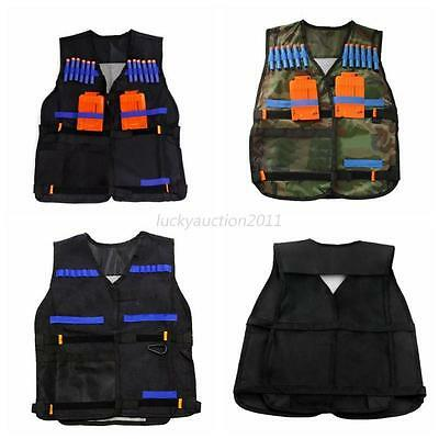 Tactical Military Airsoft Outdoor Molle Plate Carrier Combat Assault Vest Black