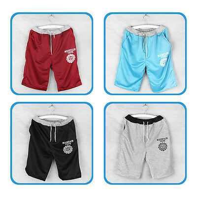 New Adjustable Men's Cotton Shorts Pants Gym Trousers Sport Jogging Trousers UR