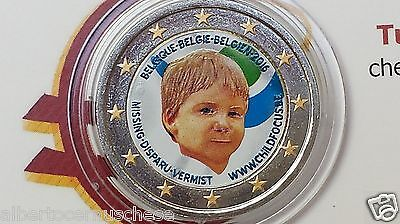 2 euro 2016 BELGIO color farbe couleur belgique belgium belgica belgien Child