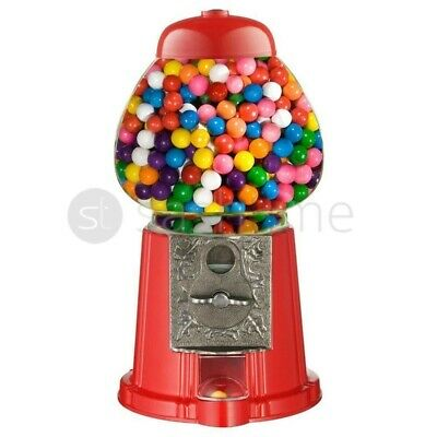 Gumball Dispenser Machine Toy With Bubble Gum Party Bag Coin Operated Kids Fun