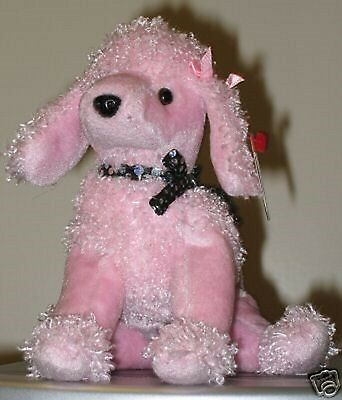 da6017790e3 Ty Beanie Baby ~ BRIGITTE the Pink Poodle Dog ~ MINT with MINT TAGS ~  RETIRED