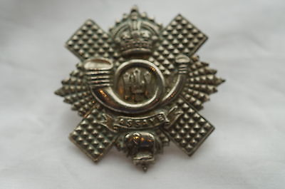 WW2 British HLI Highland Light Infantry Regiment Cap Badge