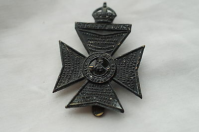 WW2 British Kings Royal Rifle Corps Regiment Cap Badge