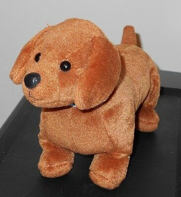 NT* Ty Beanie Baby ~ FRANK the Dachshund Dog ~ with NO HANG TAG
