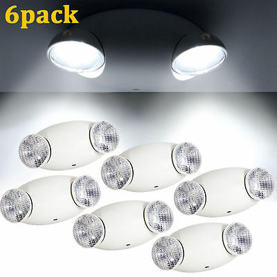 6pack Led Emergency Light High Output Lamp Home Safety Security Lighting US