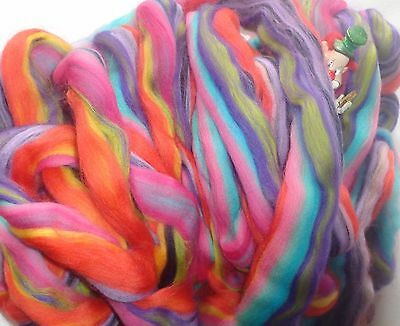 Beautiful Tops/rovings Blend 'jelly Beans Corriedale  Spinning