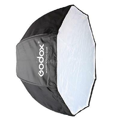 Godox 120CM Octagon Softbox Umbrella Brolly Flash Speedlite Speedlight Reflector