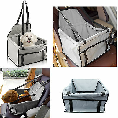 Puppy Pet Dog Cat Car Seat Safety Car Seat Belt Cover Booster Bag for Dog or Cat